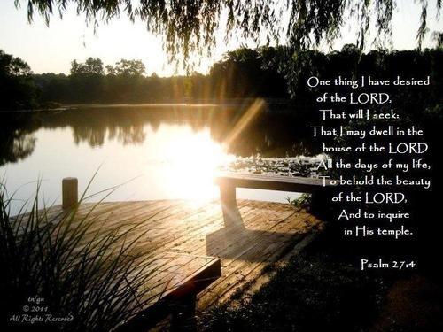 Psalms 27-4